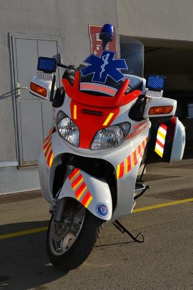 Hungary Ambulance Mentőrobogó Szolgálat