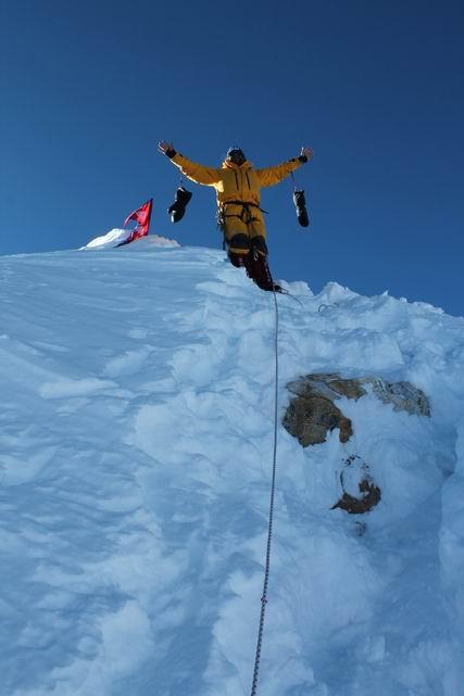 Sikerrel zárult a Sourcing Manaslu expedíció – Klein Dávid felért a csúcsra
