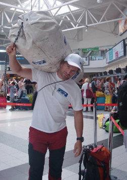 Klein Dávid sikeresen megérkezett Nepálba
