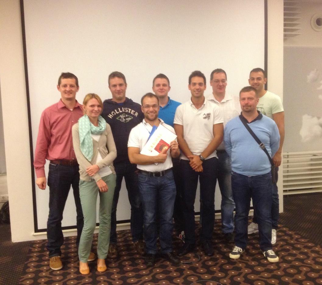 A GDF SUEZ Energia Holding Hungary Zrt. csapata
